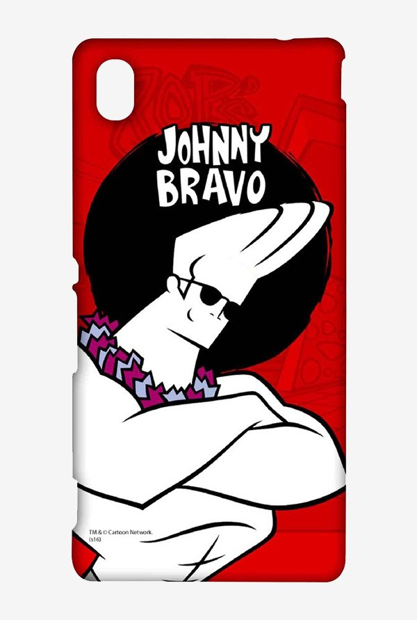 Johnny Bravo Hawaii Case for Sony Xperia M4