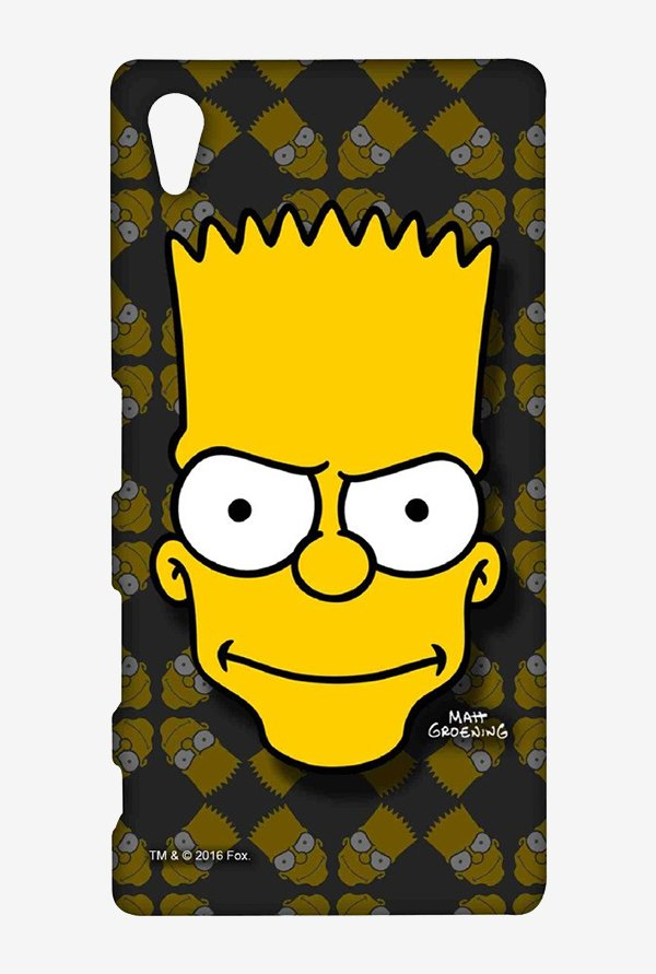 Simpsons Bartface Case for Sony Xperia Z5