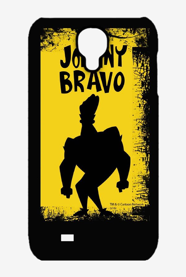 Johnny Bravo Yellow Grunge Case for Samsung S4
