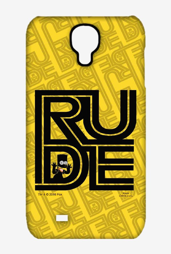 Simpsons Rude Case for Samsung S4