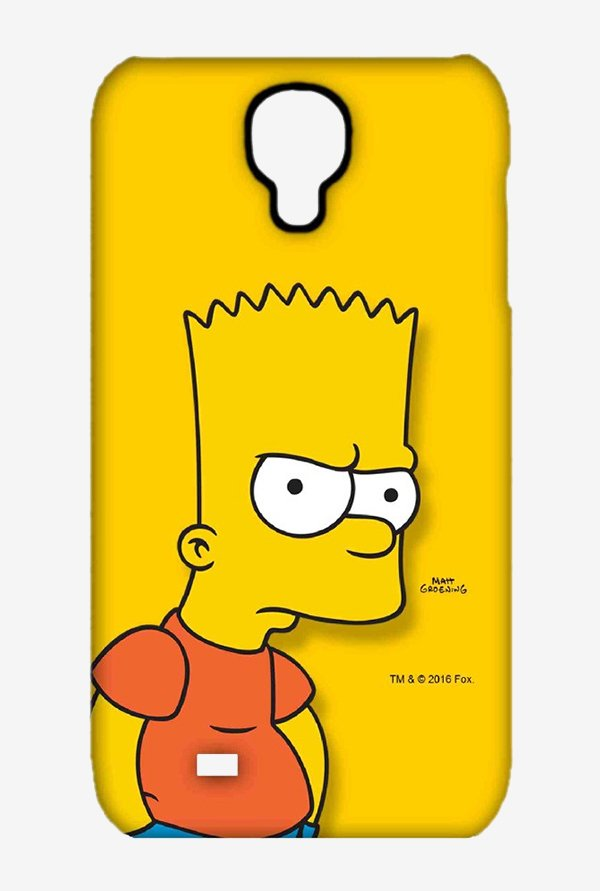 Bart Simpson Case for Samsung S4