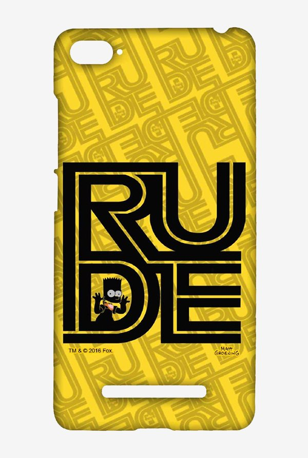 Simpsons Rude Case for Xiaomi Mi4i