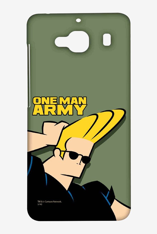 Johnny Bravo One Man Army Case for Xiaomi Redmi 2 Prime