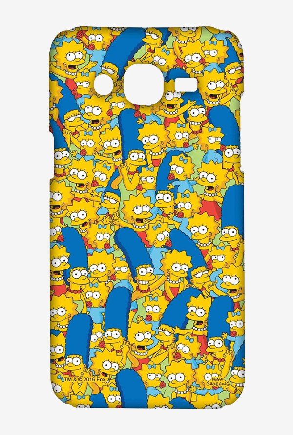 Simpsons Pattern Case for Samsung On7