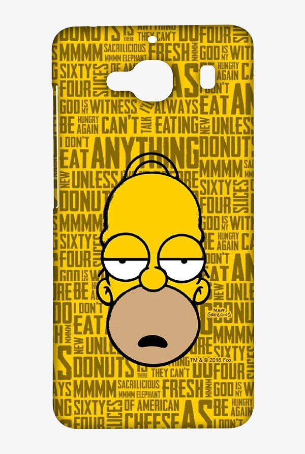 Simpsons Homer Says Case for Xiaomi Redmi 2 Prime
