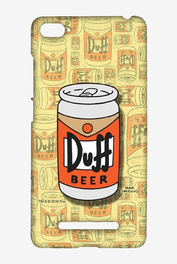Simpsons Duff Beer Case for Xiaomi Mi4i