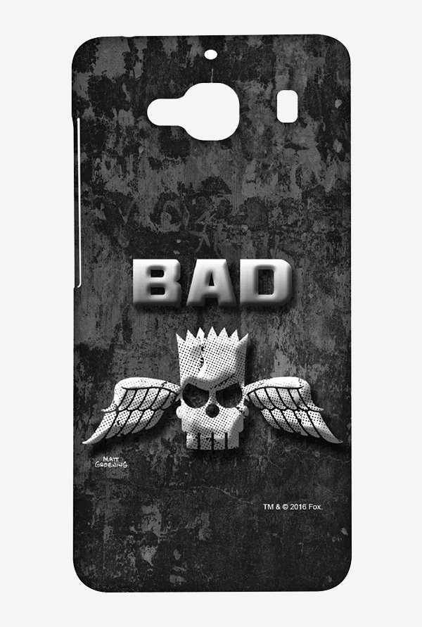 Simpsons Cracked Wall Bart Case for Xiaomi Redmi 2 Prime