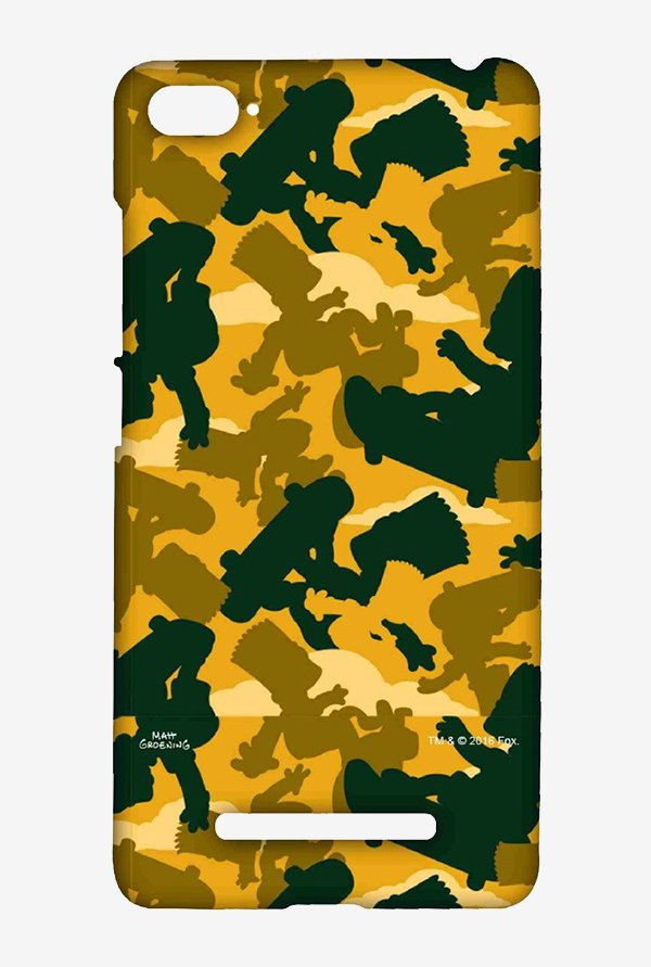 Simpsons Camo Bart Case for Xiaomi Mi4i