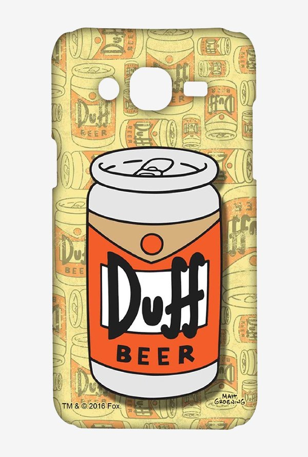 Simpsons Duff Beer Case for Samsung On7