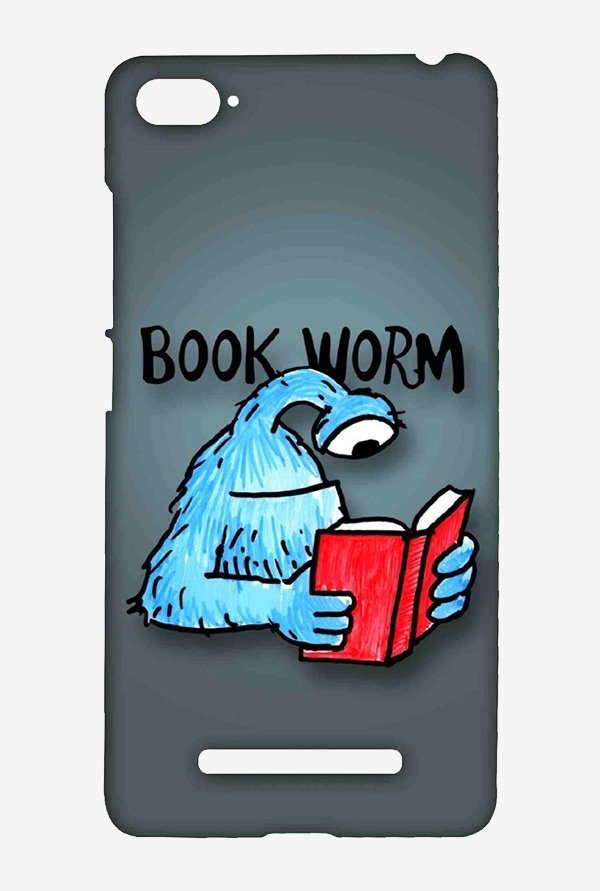 Kritzels Book Worm Case for Xiaomi Mi4i