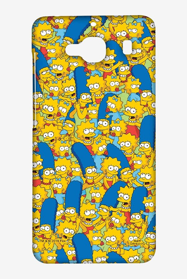 Simpsons Pattern Case for Xiaomi Redmi 2