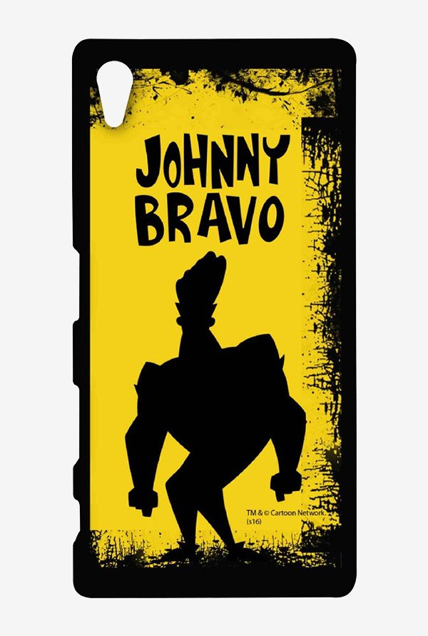 Johnny Bravo Yellow Grunge Case for Sony Xperia Z5