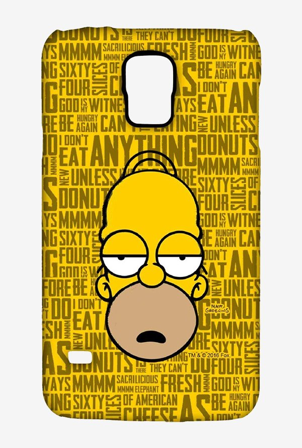 Simpsons Homer Says Case for Samsung S5