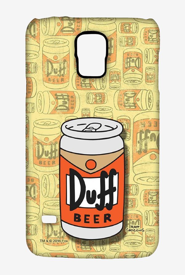 Simpsons Duff Beer Case for Samsung S5