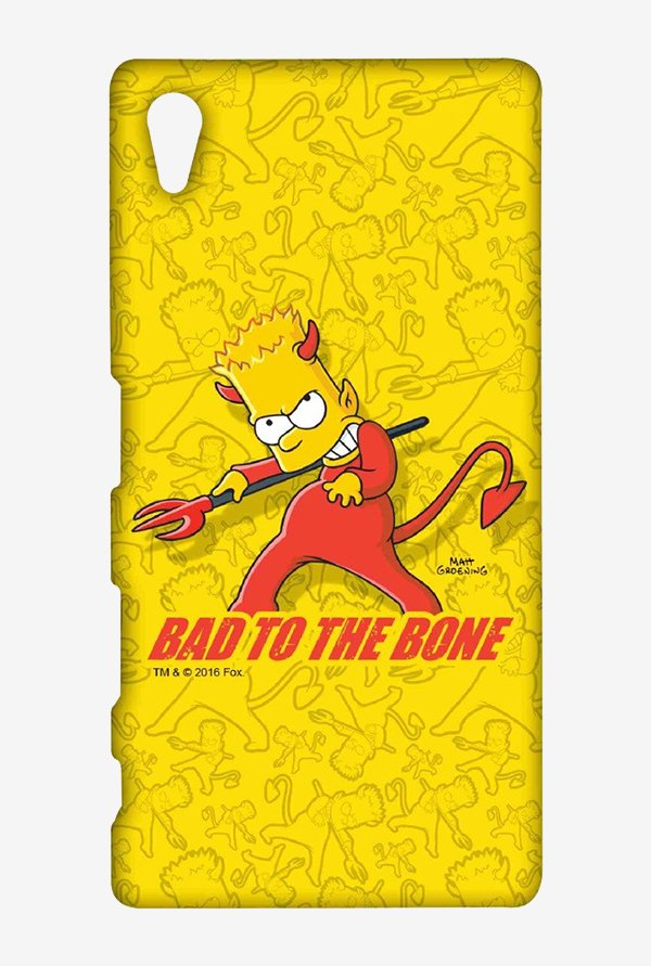 Simpsons Bad To The Bone Case for Sony Xperia Z5