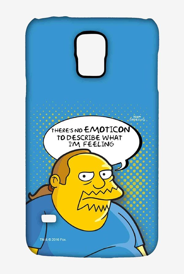 Simpsons Comic Guy Case for Samsung S5