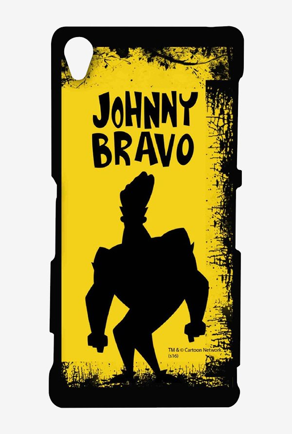 Johnny Bravo Yellow Grunge Case for Sony Xperia Z3