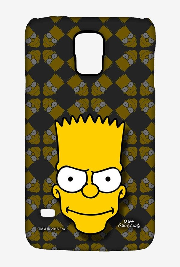 Simpsons Bartface Case for Samsung S5
