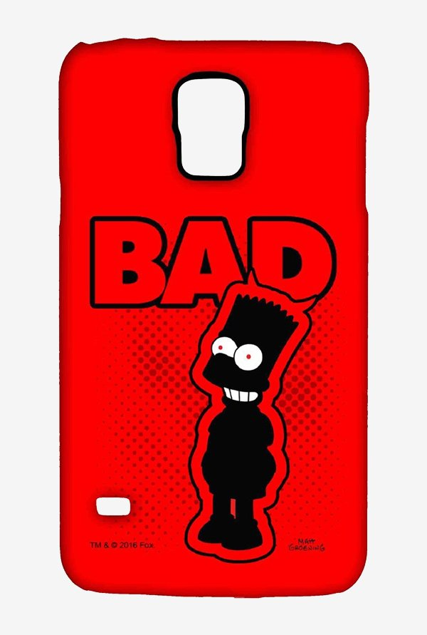 Simpsons Bad Case for Samsung S5