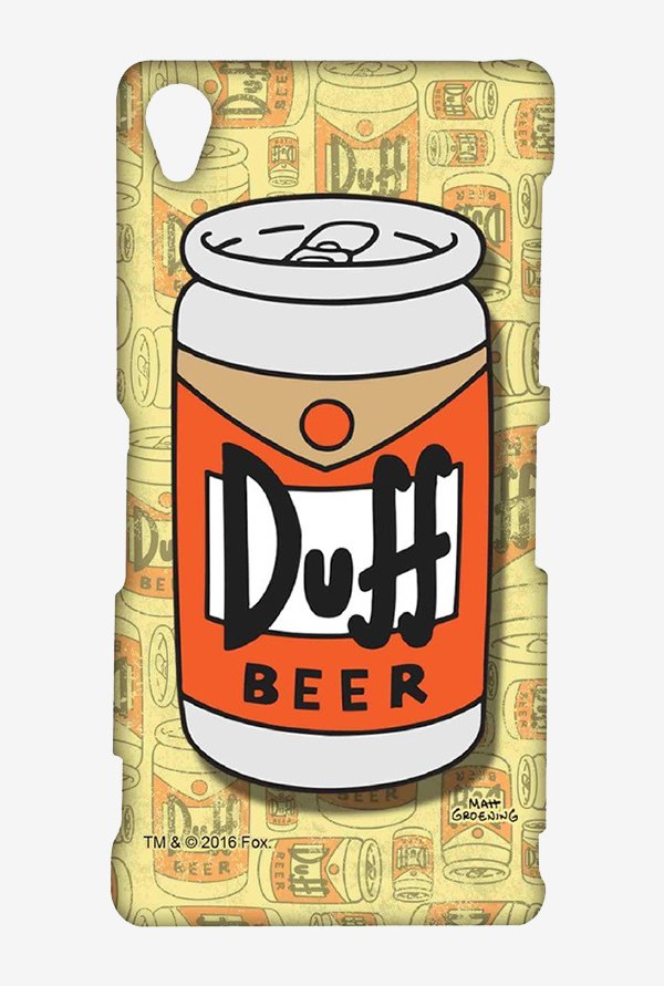 Simpsons Duff Beer Case for Sony Xperia Z3