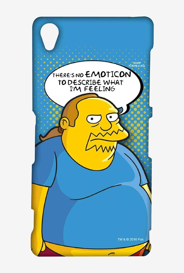 Simpsons Comic Guy Case for Sony Xperia Z3