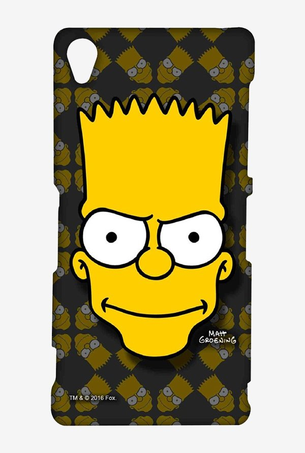 Simpsons Bartface Case for Sony Xperia Z3
