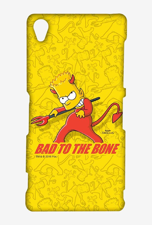 Simpsons Bad To The Bone Case for Sony Xperia Z3