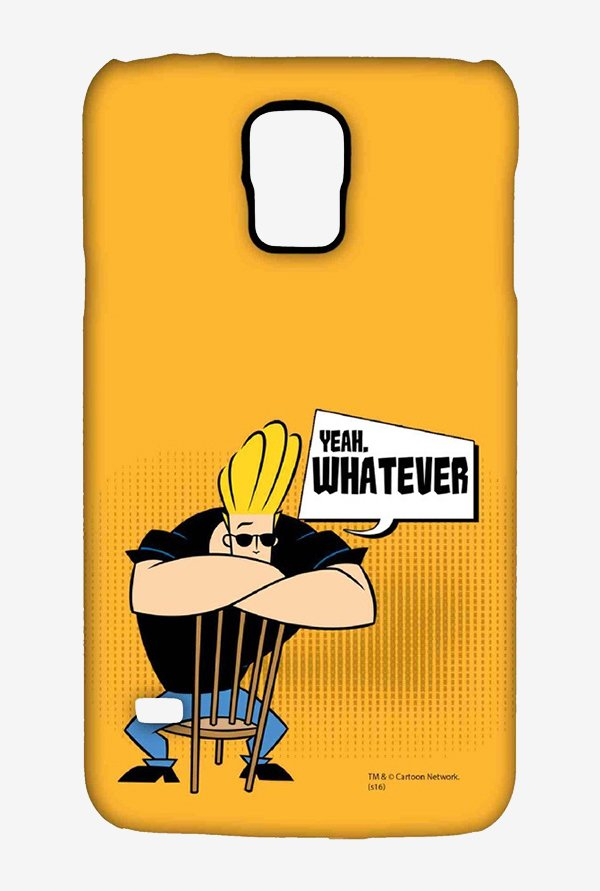 Johnny Bravo Yeah Whatever Case for Samsung S5