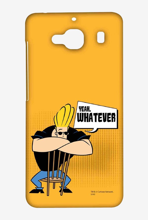 Johnny Bravo Yeah Whatever Case for Xiaomi Redmi 2 Prime
