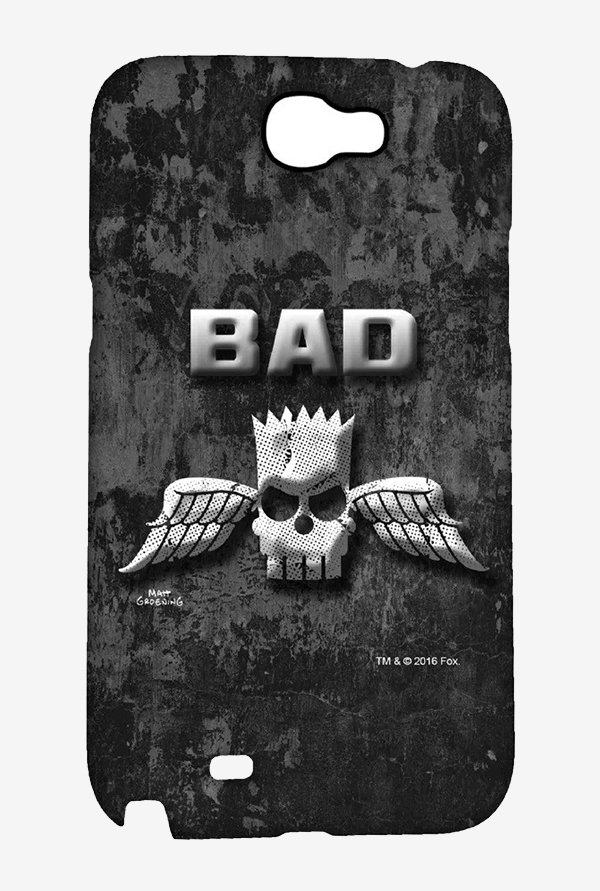 Simpsons Cracked Wall Bart Case for Samsung Note 2