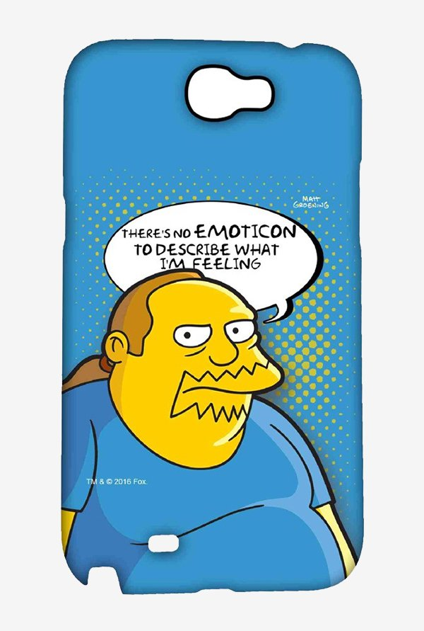 Simpsons Comic Guy Case for Samsung Note 2