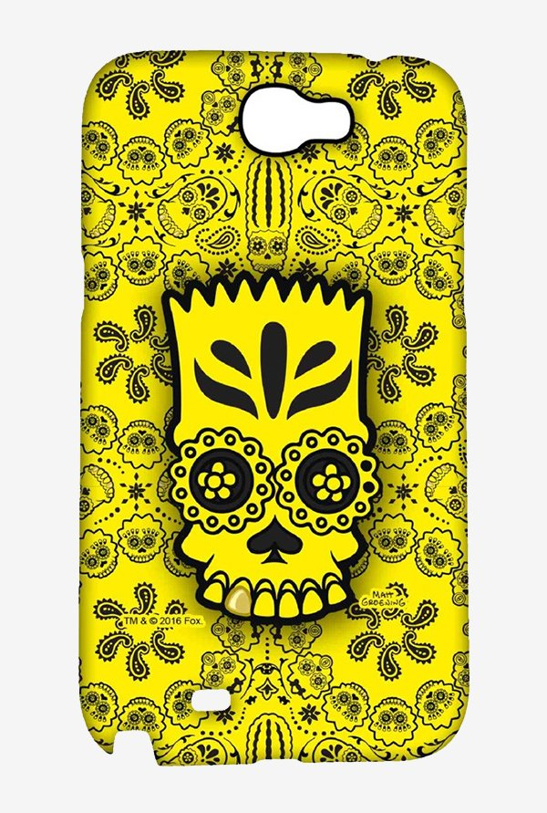 Simpsons Celtic Bart Case for Samsung Note 2