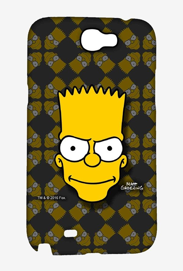 Simpsons Bartface Case for Samsung Note 2