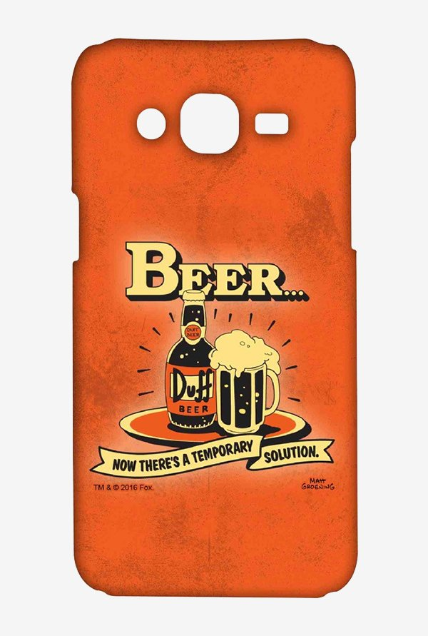 Simpsons Temporary Solution Case for Samsung J7