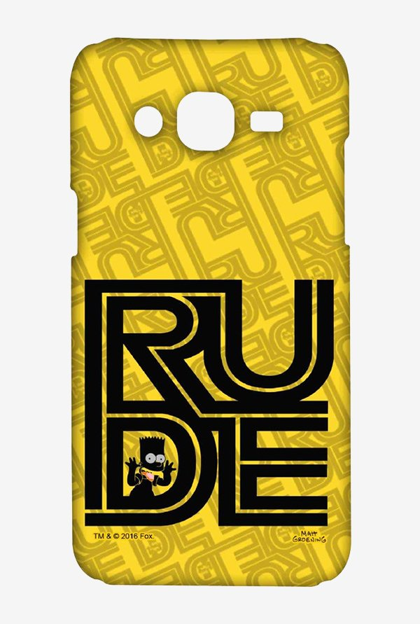 Simpsons Rude Case for Samsung J7