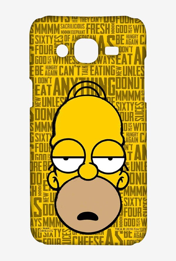 Simpsons Homer Says Case for Samsung Grand Prime