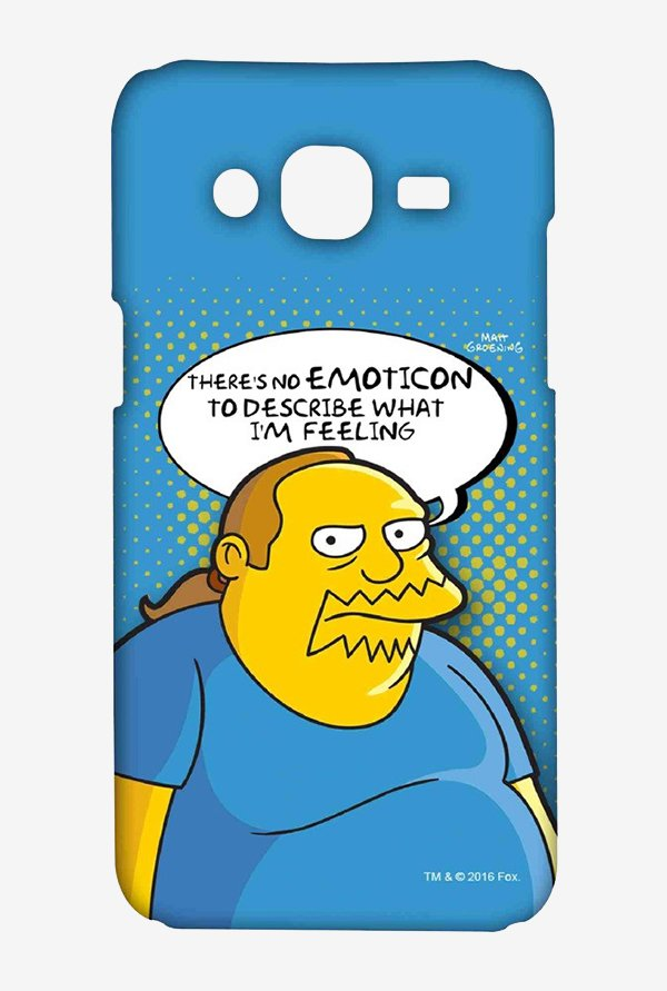 Simpsons Comic Guy Case for Samsung J5