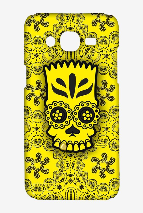 Simpsons Celtic Bart Case for Samsung J5