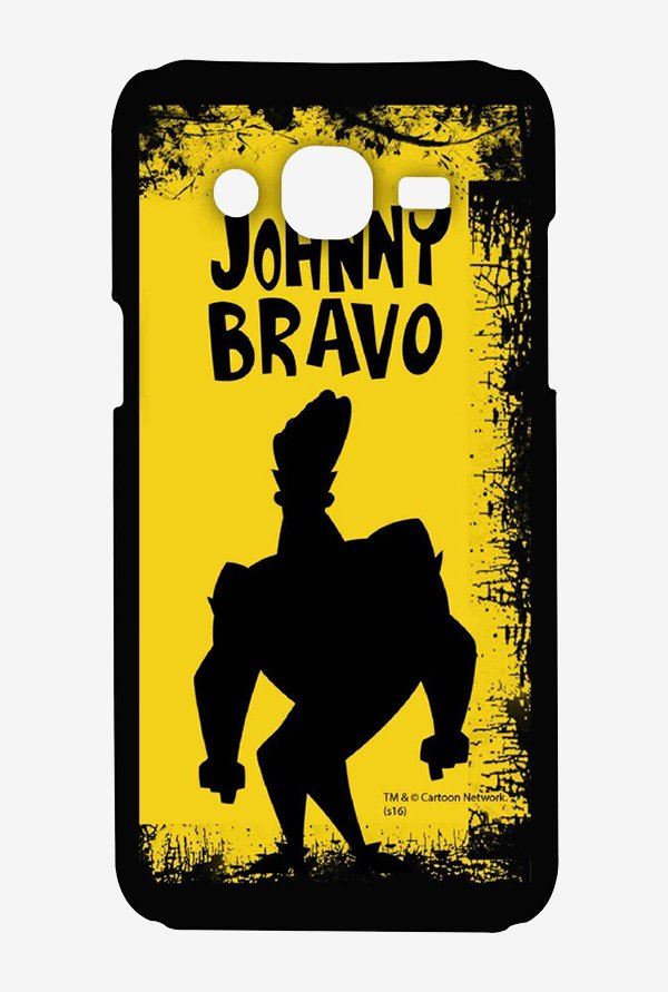 Johnny Bravo Yellow Grunge Case for Samsung Grand Prime
