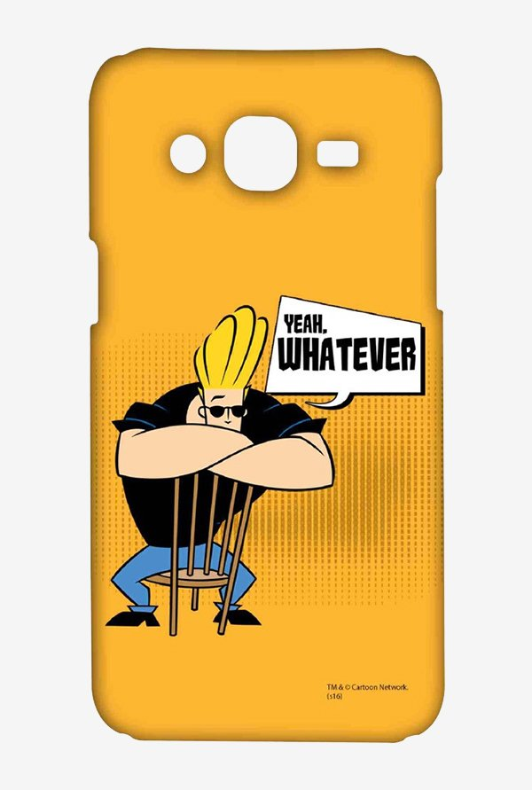 Johnny Bravo Yeah Whatever Case for Samsung Grand Prime