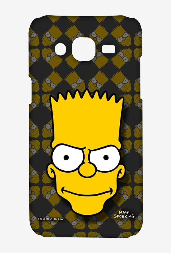 Simpsons Bartface Case for Samsung Grand Prime