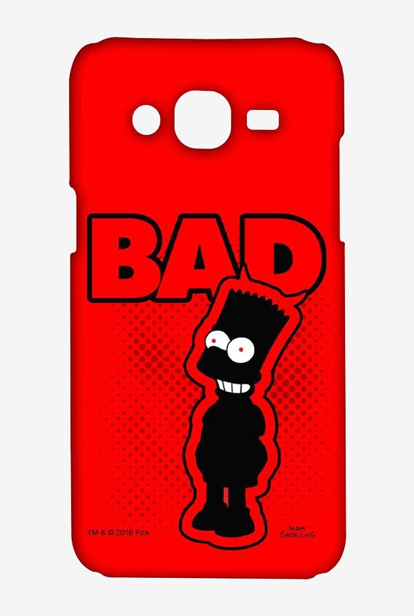 Simpsons Bad Case for Samsung Grand Prime