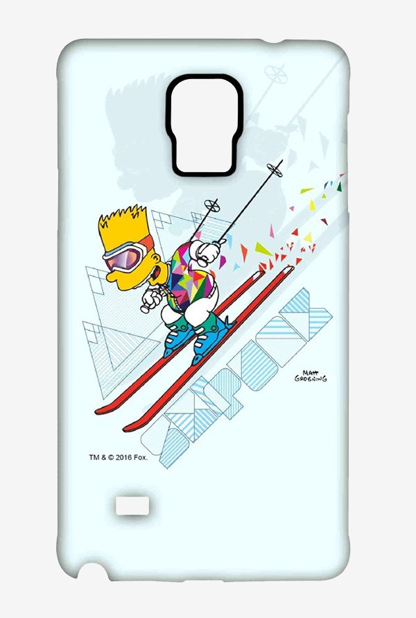 Simpsons Ski Punk Case for Samsung Note 4
