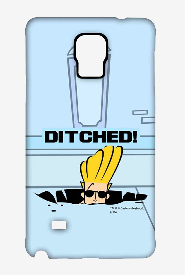 Johnny Bravo Ditched Case for Samsung Note 4