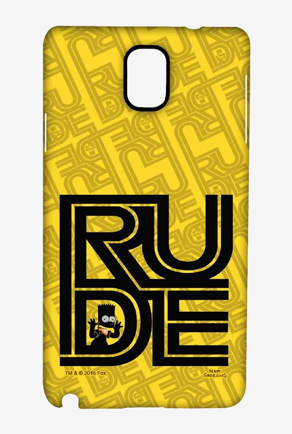 Simpsons Rude Case for Samsung Note 3