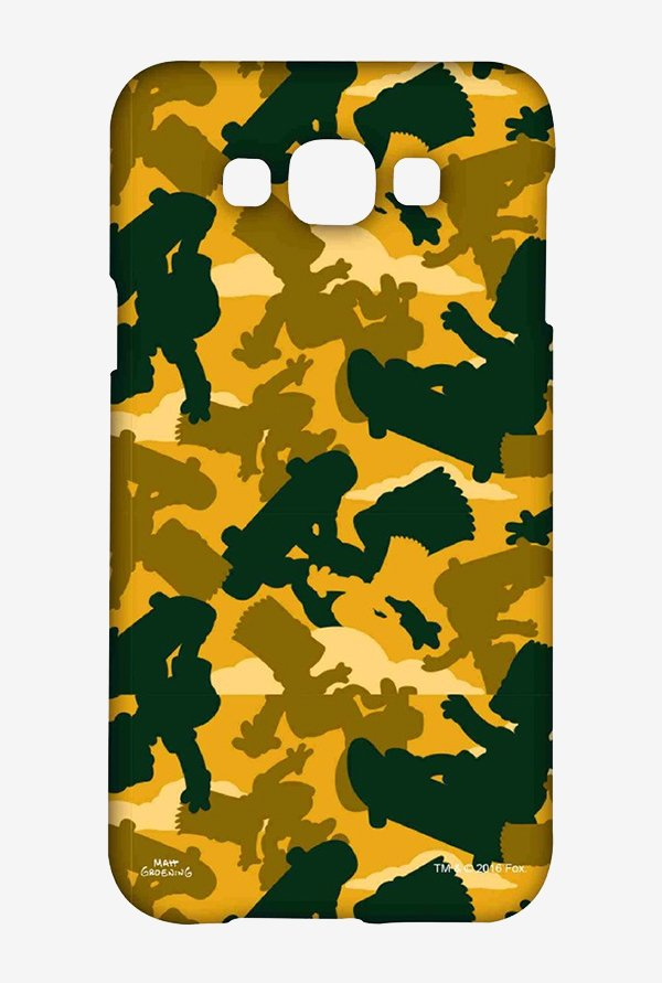 Simpsons Camo Bart Case for Samsung Grand Max