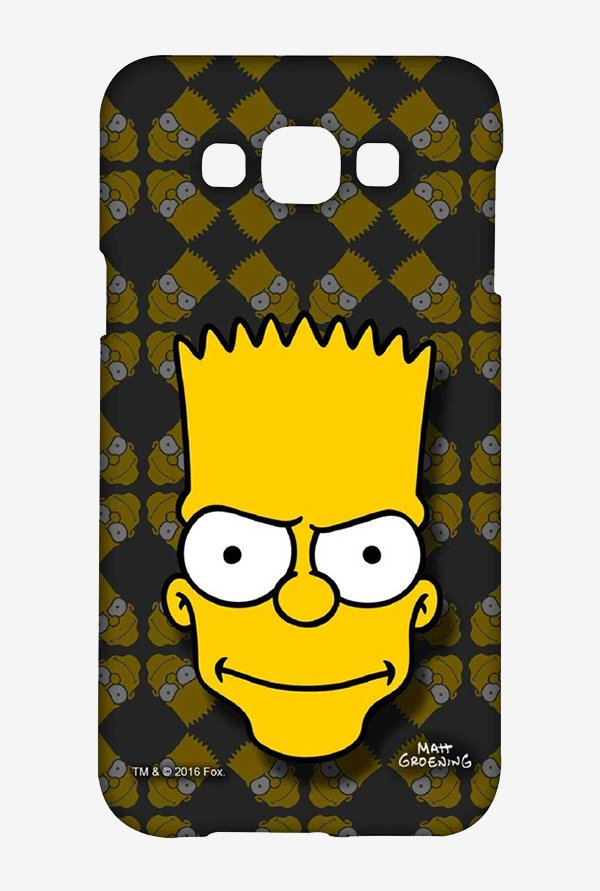 Simpsons Bartface Case for Samsung Grand Max