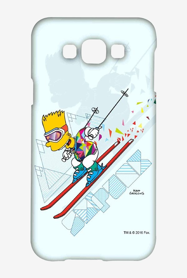 Simpsons Ski Punk Case for Samsung Galaxy E7