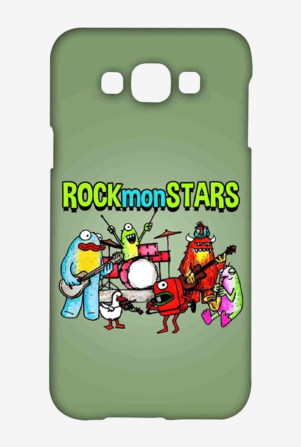 Kritzels Rockmonstars Case for Samsung Galaxy E7