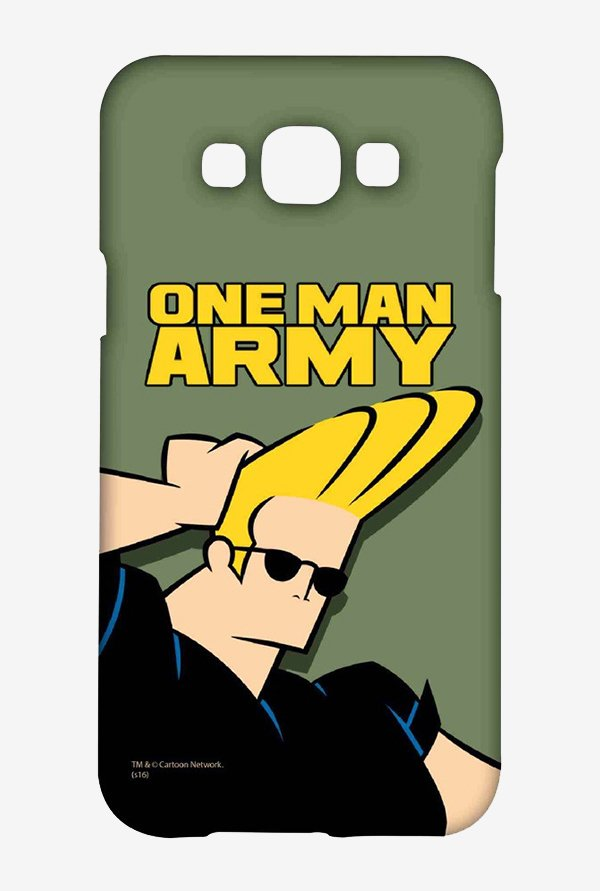 Johnny Bravo One Man Army Case for Samsung Galaxy E7